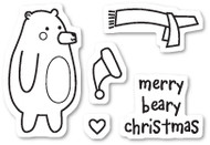 Poppystamps - Beary Christmas- Clear Stamp Set (PS-CL438)