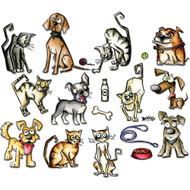 Sizzix Framelits by Tim Holtz - Mini Crazy Cats & Dogs