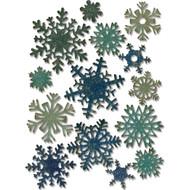 Sizzix Thinlits Dies by Tim Holtz - Mini Paper Snowflakes