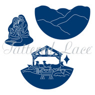 Tattered Lace Die - Essentials by Tattered Lace - Nativity Scene (ETL224)