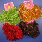 2 Pack Chiffon Hair Twisters Asst Fall Colors .54 per set