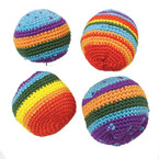 "2"" Multi Color Haki Sac Balls 24 per display bx.50 ea"