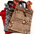 "7.5"" X 8"" Side Shoulder Bag Multi O Print 4 Colors $1.42 EA"
