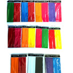 "2 Pk 2.50"" Stretch Headwraps Asst Bright Colors 12-2 pks per bag"
