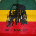 "21"" Square Cotton Bandana Mixed Rasta Theme Styles .54 ea"