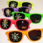Glow in the Dark Warfarer Look Dark Lense Novelty Glasses