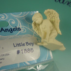 "1.5"" Poly Resin Little Boy Angel Magnet/Figurine 12 per bx .37 each"