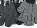 Knit Winter Magic Gloves Greytones & Black .54 ea pair