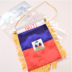 "4"" X 6"" Mini Banner Flag Haiti .54 ea"