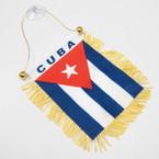 "4"" X 6"" Mini Banner Flag Cuba  .54 ea"