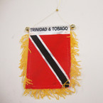 "4"" X 6"" Mini Banner Flag Trinidad .54 ea"