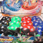 "3.5"" Flashing w/ Sound Swirl  Space Top 12 per display bx $ 1.25 ea"