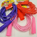 Asst Color Cord w/ Glitter Funtime Jump Rope 12 per pk  .54 ea