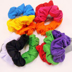 3 Pack Asst Color Cotton Hair Twisters .54 per set