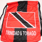 "SPECIAL 12"" X 17"" Trinidad Theme Pull String Back Pack $ 3.00 ea NOW $ 1.50"