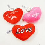 "3.5"" Plush Love Theme Keychains .56 ea"