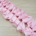 "6"" All Lite Pink Gator Clip Fashion Bow .45 ea"