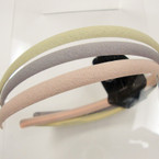3 Pack Lite Color  Mix Thin Headbands .41 per set