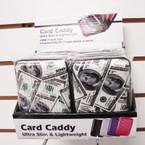 """3"""" X 4"""" Hard Plastic Case Card Caddy Wallet $100 Prints 12 per unit .65 ea pc"""