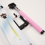 "Selfie Stick,  Self Portrait 36"" Extendable Handled Stick Pink sold by pc $ 2.50 ea"