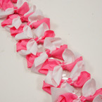 "3.5-4"" Pink/White Color Gator Clip Fashion Bow .27 ea"