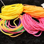 30 Pk Mixed Bright Color Gummy Bracelets .50 per pk
