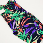 Palazzo Style Pants Multi Color Tropical  Print sold by pc $ 2.25 ea