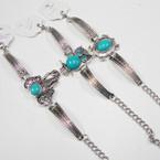 Cast Silver Fashion Bracelets w/ Owl.Turtle,Elephant 12 per pk   .56 ea