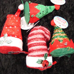 "4.5"" Festive Christmas Hair Clip 24 per display bx $1.00  ea"