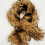"SALE 40"" Faux Fur Fashion Scarf  12 per pk ONLY $ 4.00 ea"