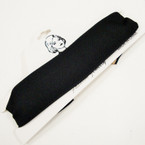 Trendy Plain All Black  Choker Necklace .50 ea