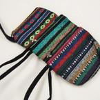 """4"""" X 5.5"""" Baja Print Zipper Bag w/ Wrislet .56 ea"""
