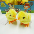 "3"" Yellow Wind Up Easter Chic's 12 per display bx  .56 ea"