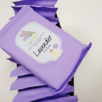 15 Sheet Make Up Remover Cleansing Towelettes  Lavender .56 ea pk