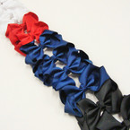 "3.5-4"" 4-Color   Gator Clip Fashion Bow .27 ea"