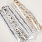 10 PACK Gold & Silver Mixed Style Toe Rings .54 per set