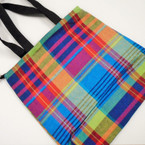 "Special 15"" X 14"" Plaid Pattern Tote Bags w/ Handle 12 per pk ONLY $ 1.10 each"