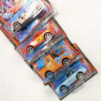 "4"" Pull Back Action Carded Car's 4 styles Only .57 each"