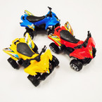 """SPECIAL 3"""" Pull Back Action Dirt Buggy's 24 per pk ONLY .33 each"""