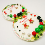 Multi Pack 7 Pair Christmas Theme Earrings .54 per set