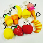Life Like Food Scented Squishes w/ Clip 24 per display bx $1.00 each