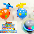 Music & Light Flashing Spinning Tops 12 per display $ 1.16 each