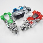 "3""  Chrome & Color Toy Motorcycles 24 per pack .30 each"