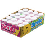 "2"" Smile Face Bubble Bottles 24 per bx .25 each"