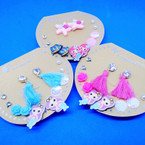 6 Pair Kid's Mermaid Theme Fashion Earring Set .52 per set
