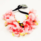 Big Size Gradiant Color Flower Headbands  .55 each