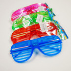 SPECIAL Flashing Shutter Style Novelty Glasses .65  each