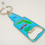 Metal Florida Picture Bottle Opener Keychains .54 each