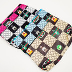 "Designer Look 4.5"" X 8"" Cosmetic Zipper Bags .56 each"