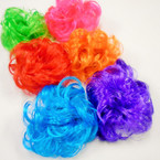 Large Size 6 Color Imitation Wig Hair Twisters  .54 each